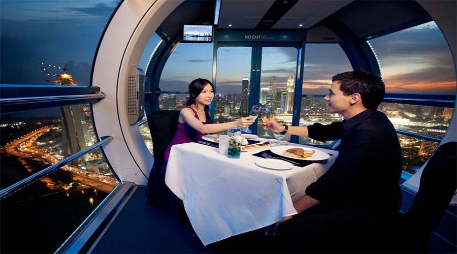 SINGAPORE FLYER PVT DINING BLOG