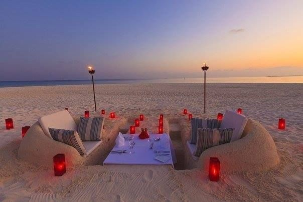 romantic beachfront